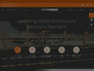 echobarrier.com.au screenshot