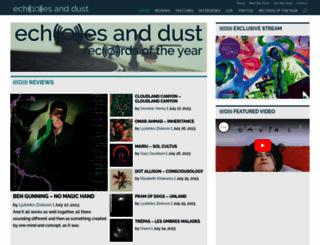 echoesanddust.com screenshot