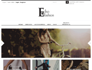 echofashion.com.sg screenshot