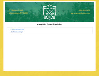 echolake.campmanagement.com screenshot