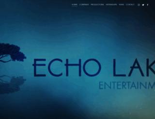 echolakeproductions.com screenshot