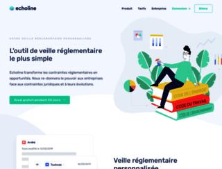 echoline.fr screenshot