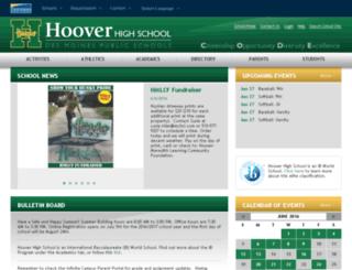 echoover.dmschools.org screenshot