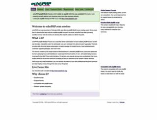 echophp.com screenshot