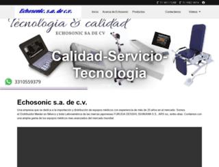echosonic.com.mx screenshot