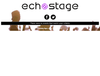 echostage.wantickets.com screenshot