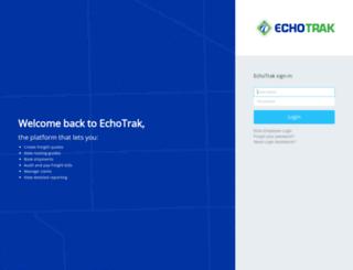 echotrak.com screenshot