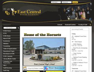 echs.ecisd.net screenshot