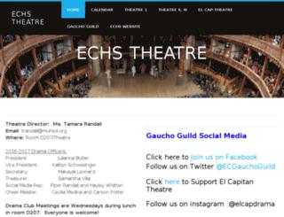 echstheatre.weebly.com screenshot