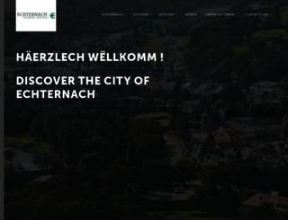 echternach-tourist.lu screenshot