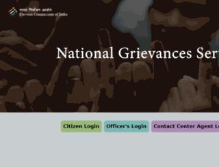 eci-citizenservices.nic.in screenshot
