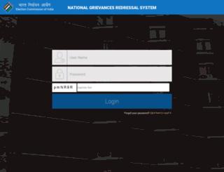 eci-citizenservicesforofficers.nic.in screenshot