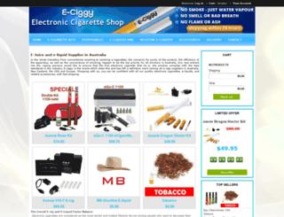 ecigarette24.com.au screenshot