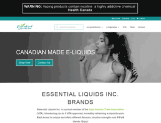 ecigarettecanada.org screenshot