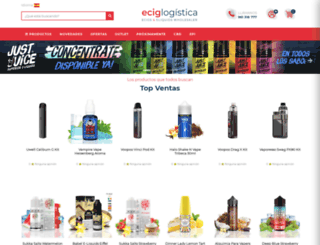 eciglogistica.com screenshot