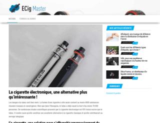 ecigmaster.com screenshot
