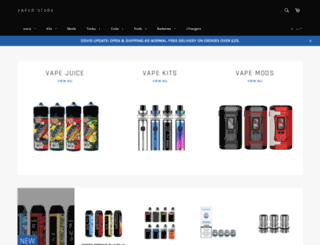 ecigsoutlet.co.uk screenshot