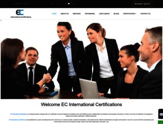 ecint.co.in screenshot
