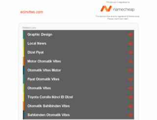 ecinvites.com screenshot