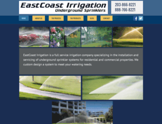 ecirrigation.com screenshot