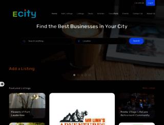 ecity.com screenshot