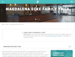 ecke.ymca.org screenshot