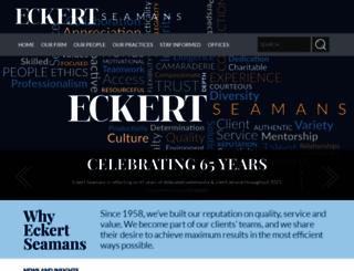eckertseamans.com screenshot