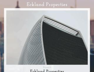 eckland.co.za screenshot