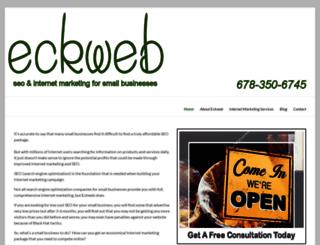 eckweb.com screenshot