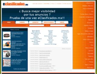 eclasificados.mx screenshot