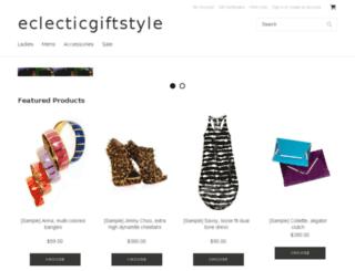 eclecticgiftstyle.com screenshot