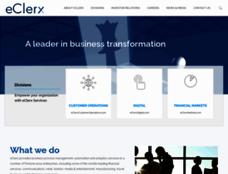 eclerx.com screenshot