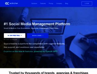 eclincher.com screenshot