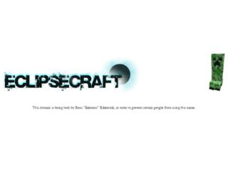 eclipsecraft.org screenshot