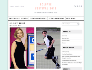 eclipsefestival2016.com screenshot