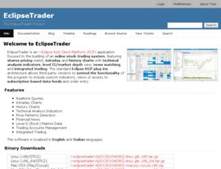 eclipsetrader.org screenshot