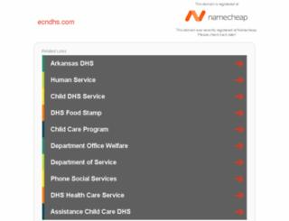 ecndhs.com screenshot