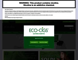eco-cigs.com screenshot