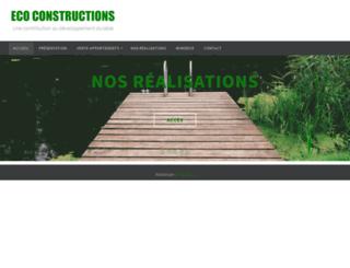 eco-constructions.ch screenshot