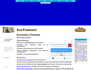 eco-finanzas.com screenshot
