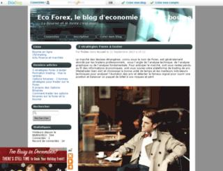 eco-forex.eklablog.com screenshot
