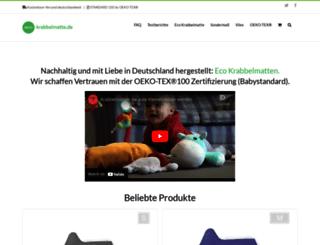 eco-krabbelmatte.de screenshot