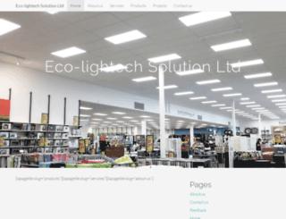 eco-lightech.co.nz screenshot