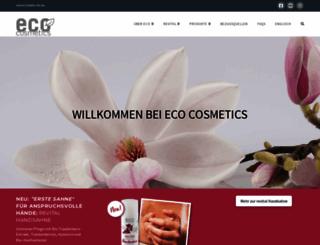 eco-naturkosmetik.de screenshot
