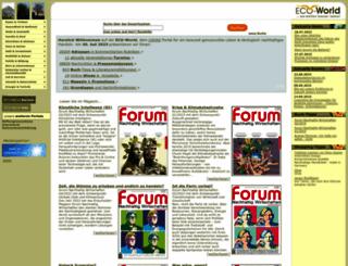eco-world.de screenshot