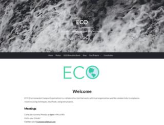 eco.truman.edu screenshot