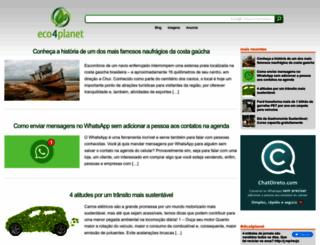eco4planet.com screenshot