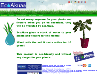 ecoakua.com screenshot