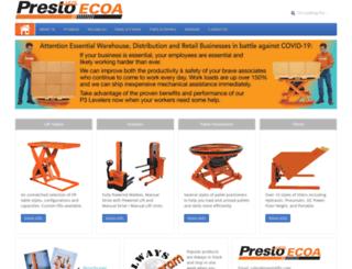 ecoalifts.com screenshot