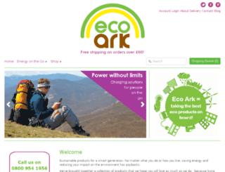 ecoark.co.uk screenshot